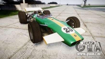 Lotus Type 49 1967 [RIV] PJ25-26 pour GTA 4