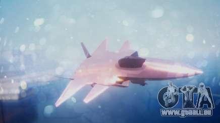 Chenyang J-20 Air Force BF4 für GTA San Andreas