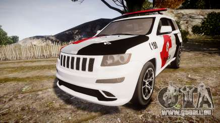 Jeep Grand Cherokee SRT8 Forca Tatica [ELS] pour GTA 4