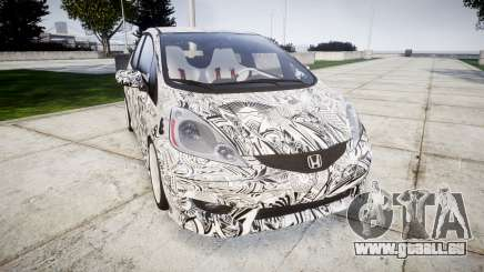 Honda Fit 2006 Sharpie für GTA 4