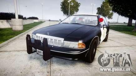 Chevrolet Caprice 1991 Highway Patrol [ELS] Slic pour GTA 4