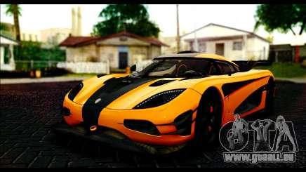 Koenigsegg One:1 v2 für GTA San Andreas