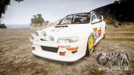 Subaru Impreza WRC 1998 v4.0 SA Competio pour GTA 4