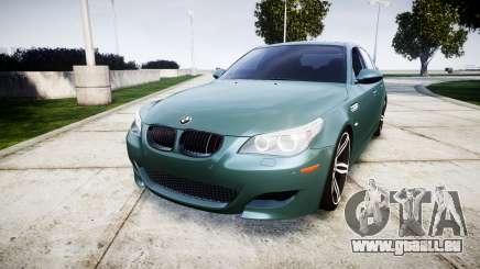 BMW M5 E60 v2.0 Stock rims pour GTA 4