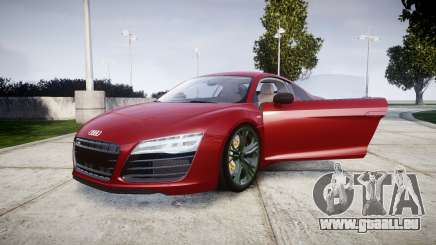 Audi R8 V10 Plus 2014 für GTA 4