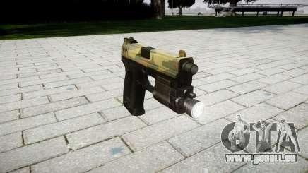 Pistole HK USP 45 flora für GTA 4