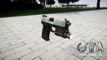 Pistole HK USP 45 Warschau für GTA 4