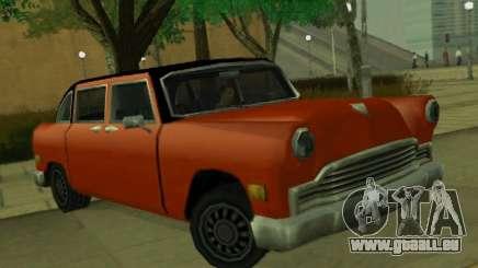 Cabbie Restyle für GTA San Andreas
