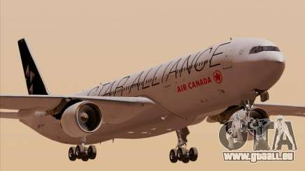 Airbus A330-300 Air Canada Star Alliance Livery pour GTA San Andreas