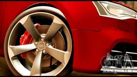 Audi RS5 2013 pour GTA San Andreas vue de droite