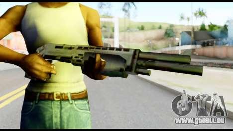 New Combat Shotgun pour GTA San Andreas troisième écran