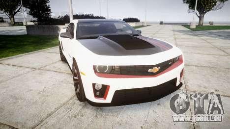 Chevrolet Camaro ZL1 2012 Redline für GTA 4