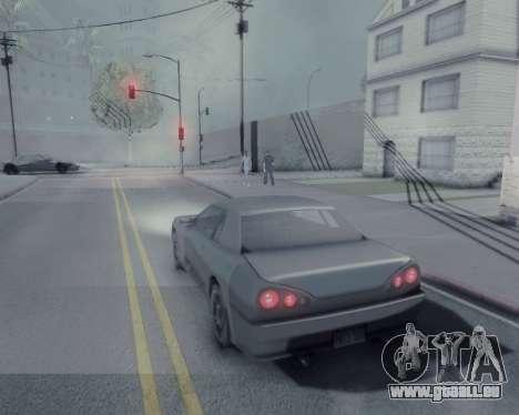 Graphique Mod v5.0 для GTA San Andreas pour GTA San Andreas quatrième écran