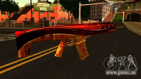 La Veille du nouvel An, un Fusil d'Assaut pour GTA San Andreas deuxième écran