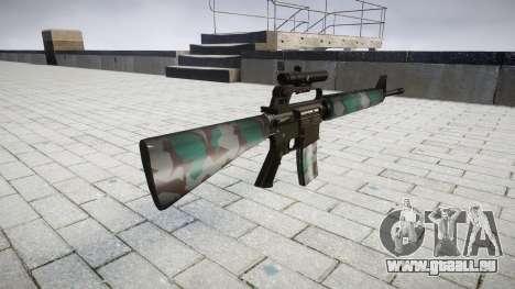 Die M16A2 Gewehr [optisch] Warschau für GTA 4 Sekunden Bildschirm
