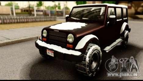 GTA 5 Mesa für GTA San Andreas