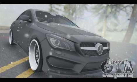 Mercedes Benz CLA 250 2014 pour GTA San Andreas