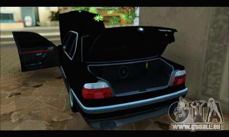 BMW 750iL für GTA San Andreas Rückansicht