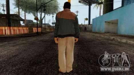 GTA 4 Skin 47 pour GTA San Andreas deuxième écran