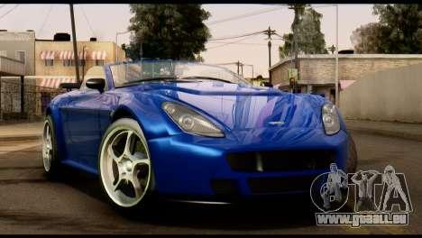 GTA 5 Dewbauchee Rapid GT Cabrio [HQLM] pour GTA San Andreas