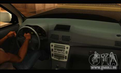 Ford Ranger P.B.A 2015 Text3 pour GTA San Andreas vue de droite