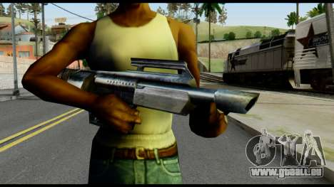 Jackhammer from Max Payne pour GTA San Andreas troisième écran