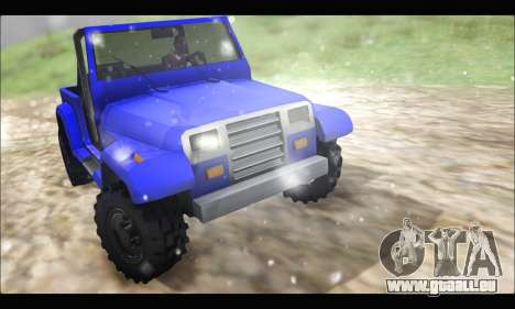 Mesa Off-Road für GTA San Andreas linke Ansicht