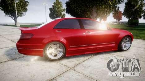 GTA V Benefactor Schafter body wide rims pour GTA 4 est une gauche