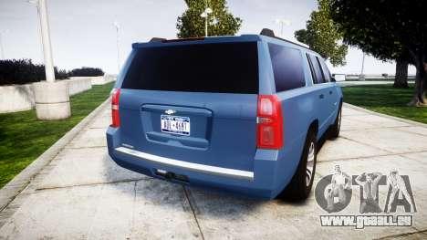 Chevrolet Suburban 2015 für GTA 4 hinten links Ansicht