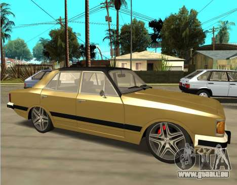Chevrolet Opala 1980 pour GTA San Andreas laissé vue