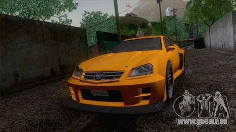 Benefactor Feltzer GTA V pour GTA San Andreas