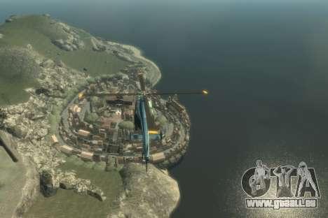 La Côte D'Azur pour GTA 4 troisième écran