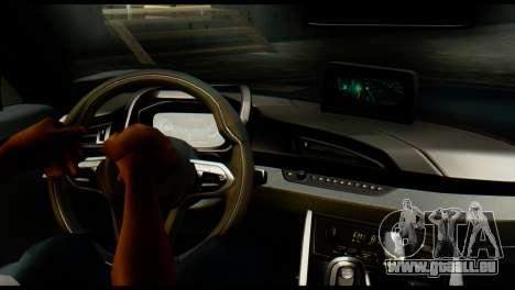 BMW I8 2013 pour GTA San Andreas sur la vue arrière gauche