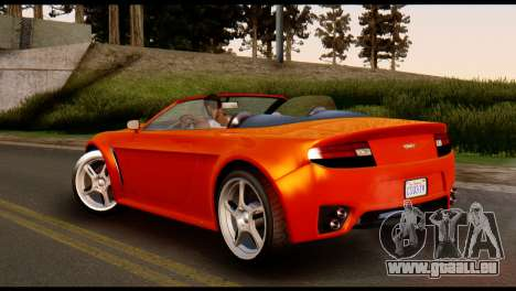 GTA 5 Dewbauchee Rapid GT Cabrio [IVF] für GTA San Andreas linke Ansicht