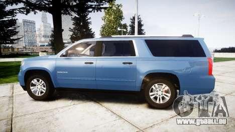 Chevrolet Suburban 2015 pour GTA 4 est une gauche