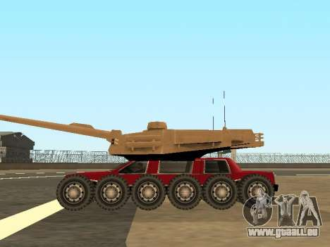 Tink Tank pour GTA San Andreas vue de droite