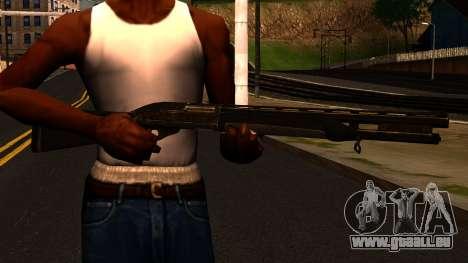 Shotgun from GTA 4 für GTA San Andreas dritten Screenshot