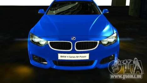 BMW 4-Series Coupe M Sport 2014 für GTA San Andreas rechten Ansicht