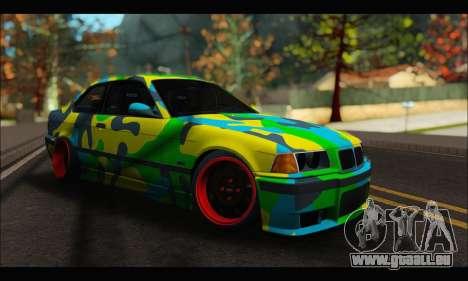 BMW M3 E36 Camo Style für GTA San Andreas