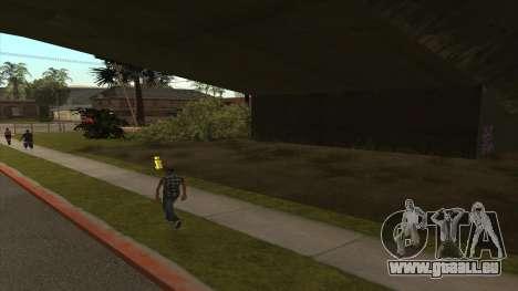 Cuve de Transport de la remorque pour GTA San Andreas deuxième écran