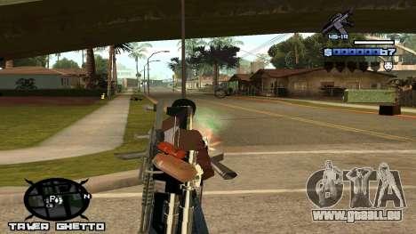 HUD Ghetto Tawer für GTA San Andreas dritten Screenshot