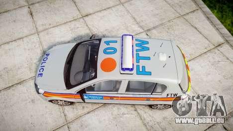 Vauxhall Astra 2010 Police [ELS] Whelen Liberty pour GTA 4 est un droit