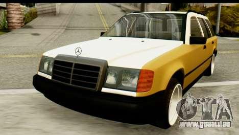 Mercedes-Benz W124 pour GTA San Andreas vue arrière