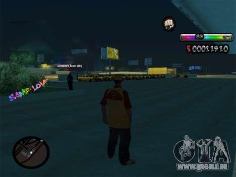 C-HUD par nester_n pour GTA San Andreas deuxième écran