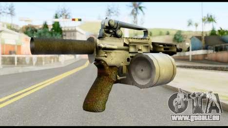 Patriot from Metal Gear Solid pour GTA San Andreas deuxième écran