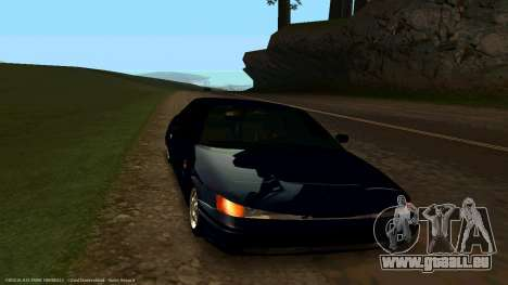 VAZ 21123 Bad Boy für GTA San Andreas Rückansicht