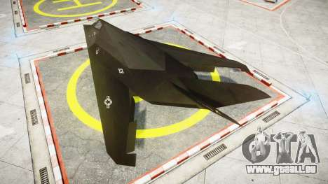 Lockheed F-117 Nighthawk pour GTA 4 est une gauche