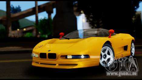 BMW Italdesign Nazca C2 1991 pour GTA San Andreas