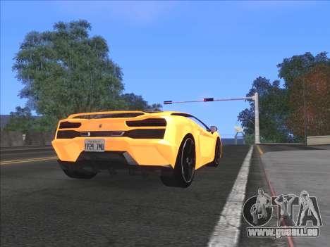 Agréable ColorMod pour GTA San Andreas quatrième écran