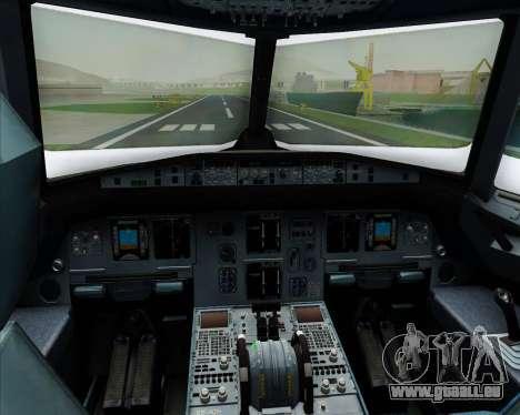 Airbus A320-200 Scandinavian Airlines - SAS für GTA San Andreas Innen